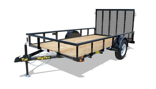 Big Tex 35SA-14 Single Axle Trailer