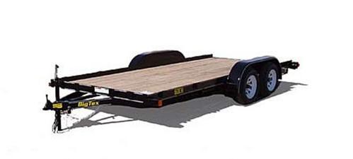 Big Tex 60ch Tandem Axle Car Hauler Trailer
