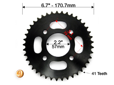 Rear Sprocket 1
